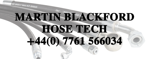 Martin Blackford, M.B Hydraulic Hoses Replacement Tech, East Sussex, Tel: +44(0) 7761 566034
