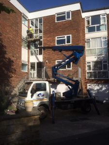 Supplied access in Bexhill for St Leonards windows